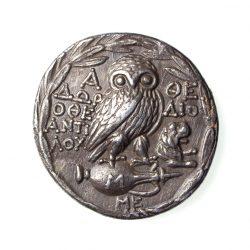 Athens Attica Silver Tetradrachm 165-42BC-18346