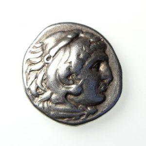 Macedon Philip III Silver Drachm 323-317BC-18425
