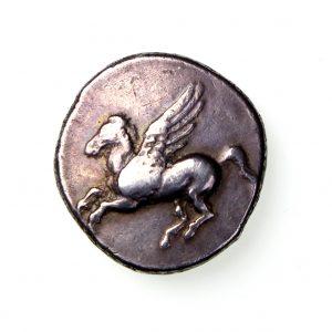 Corinth Silver Stater c.350-300BC Pegasus -18542