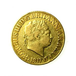 George III Gold Sovereign 1760-1820AD 1817AD-18679