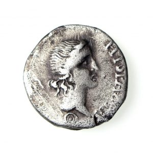 Galba Silver Denarius Civil Wars 68-69AD Spanish Mint-18767