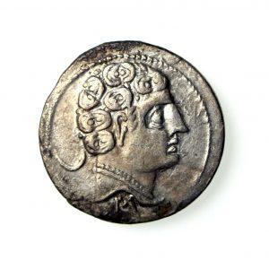 Iberia Sekobrikes Silver Denarius 130-100BC-18801