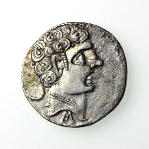 Iberia Sekobirikes Silver Denarius 130-100BC-18805