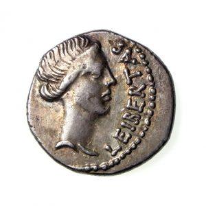 M Iunius Brutus Silver Denarius 42BC-18902