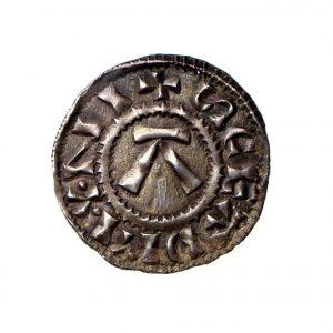 Viking Danish East Anglia St Edmund Silver Penny 885-915AD-0
