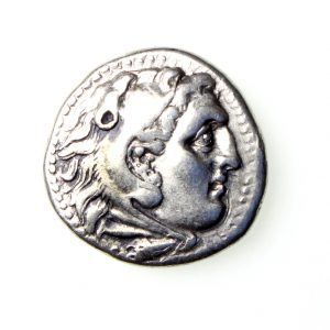 Alexander the Great Silver Drachm 336-323BC-19342