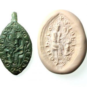 Medieval Eccleasiastical Vesica Seal Matrix-19434