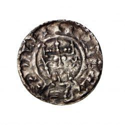 William II Rufus Silver Penny 1087-1100AD Cross Fleury London-19493