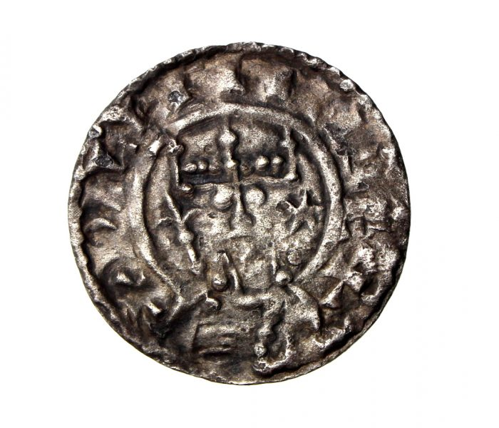 William II Rufus Silver Penny 1087-1100AD Cross Fleury London-19493