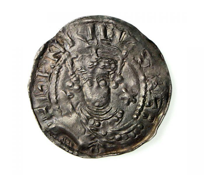 Henry I Silver Penny 1100-1135AD Pellets in Quatrefoil Southwark -19498