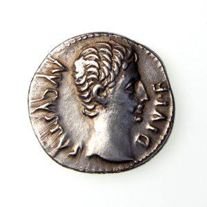 Augustus Silver Denarius 27BC-14AD exceptional -19572