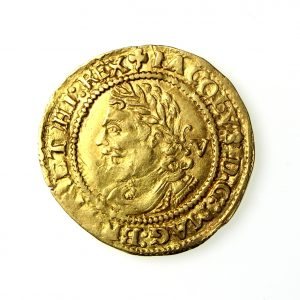 James I Gold Quarter Laurel 1603-25AD-19691