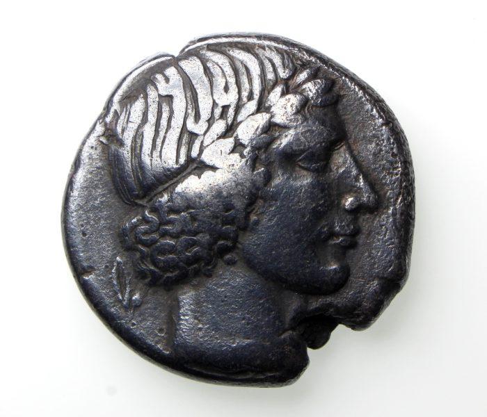 SICILY, Leontini Circa 450-440BC SIlver Tetradrachm -20029