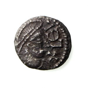 Anglo Saxon Silver Sceat 710-760AD Series T Scarce-20033