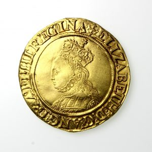 Elizabeth I Gold Half Pound 1558-1603AD Cross Crosslet -19792