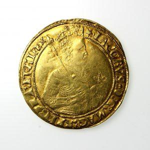 James I Gold Unite 1603-1625AD mm. star -19793