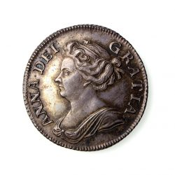 Anne Silver Shilling 1702-1714AD 1708AD GEF-19801
