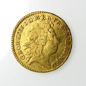 George I Gold Half Guinea 1714-27AD 1720AD-19803