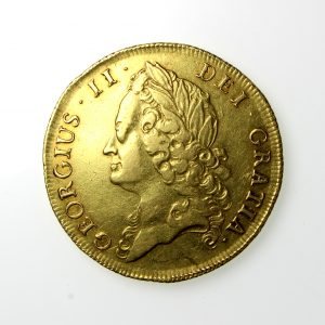 George II Gold Two Guinea 1727-60AD 1739AD-19808