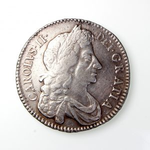 Charles II Silver Halfcrown 1660-1685AD 1679AD-19819