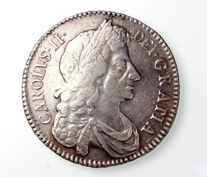 Charles II Silver Halfcrown 1660-1685AD 1679AD-19819