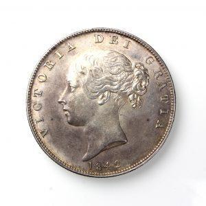 Victoria Silver Halfcrown 1837-1901AD 1842AD-19836