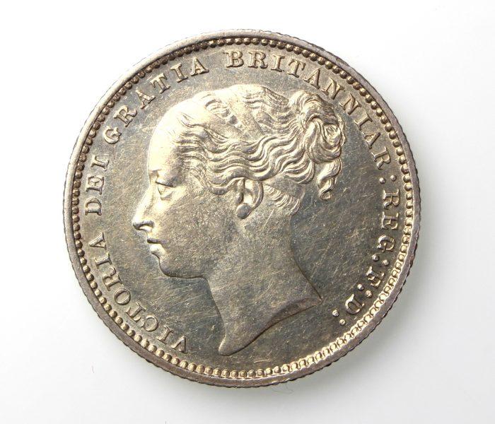 Victoria Silver Shilling 1837-1901AD 1885AD-19837