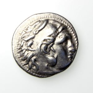 Alexander The Great Silver Drachm 336-323BC-19882