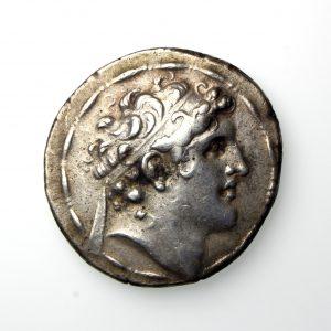 SELEUKID EMPIRE Alexander I Balas 150-145BC Silver Tetradrachm Antoich mint-19942