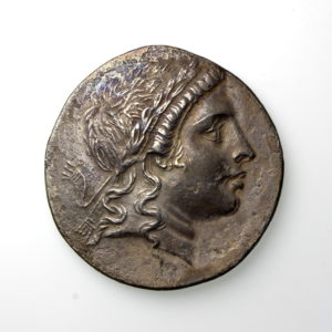 AEOLIS, Myrina Circa 160-143BC Silver Tetradrachm-19947