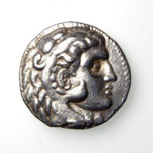 SELEUKID EMPIRE Seleukos I Nikator Silver Tetradrachm 312-281BC style of Alexander III-19961