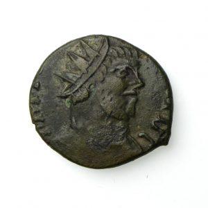 Carausius Bronze Antoninianus 287-293AD Barberous -20080