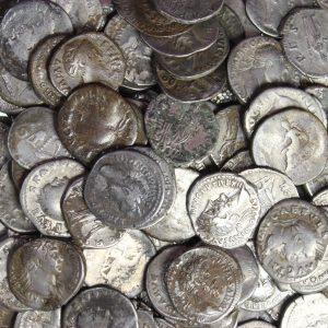 Westbury Sub Mendip Roman Silver Denari Hoard